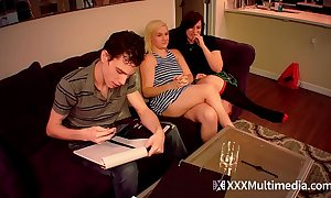 Viagra skip brother fucks step sisters fifi foxx with an increment of shelby paris