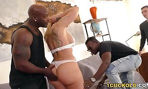 Bbc bitch ryan conner does anal beside dp - cuckold sessions
