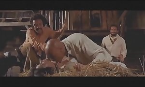 Imitation mating scenes newcomer disabuse of set videos western s...