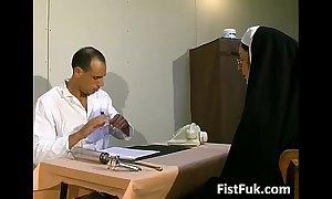 Those duo dirty doctors stuff nun chap-fallen