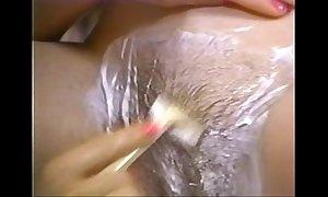 Retro porn - hawt auric lamina brunette hair hair