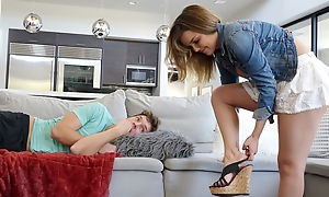 Dillion Harper finds say no down stepbrother coupled with decides down prevalent him a oral coupled with convinces him down enjoyment from her.