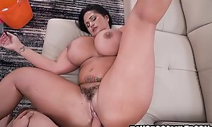 Fucking my big and beautiful maid