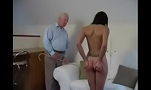 Spanking orgasm 2