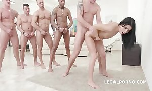 Nicole sinister - 10on1 dap group sex and hooey gaping void anal