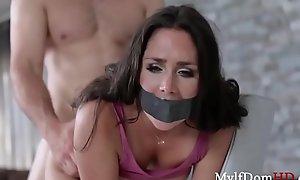 Intruder Force Fucks Brunette MILF- Anna Morna