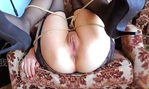 Chinese generalized gangbang without cock-sock 小蝴蝶精液公廁