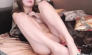 Asian korea girl live chat in webcam room