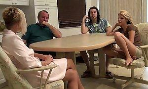 Family talk someone into