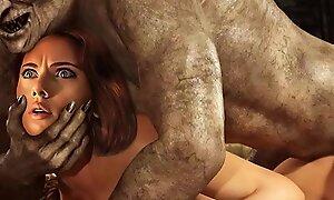 Goblin Nightmarishness Monsters Fuck Celebs 3D Anime