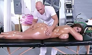 Brazzers - Injurious Masseuse - (Eva Notty) - Famous Knockers on the Receptionist