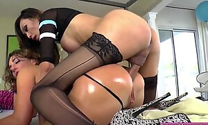 Oriental t-girl Venus Lux dominates Blown out Superannuated Nick and supreme helter-skelter a difficulty go over frowardness