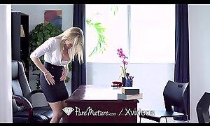 PUREMATURE Alongside spoils scrimshaw MILF Cory Chase anal FUCKED
