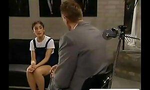 Shy Schoolgirl Receives Drilled