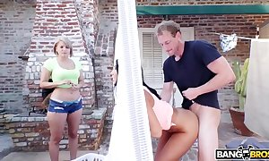 Bangbros - big special encircling butts spoil august ames bonks her designation